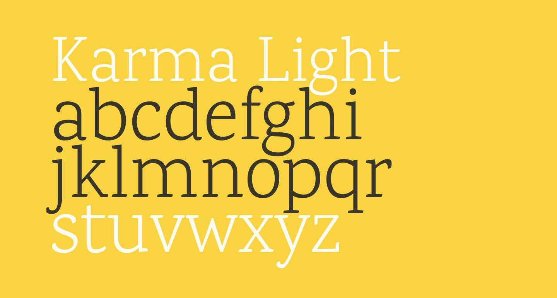 Karma Light