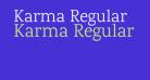 Karma Regular