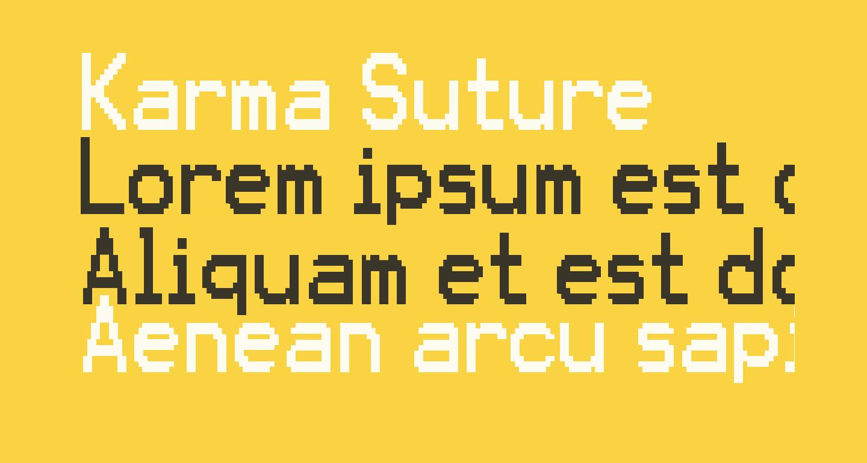 Karma Suture