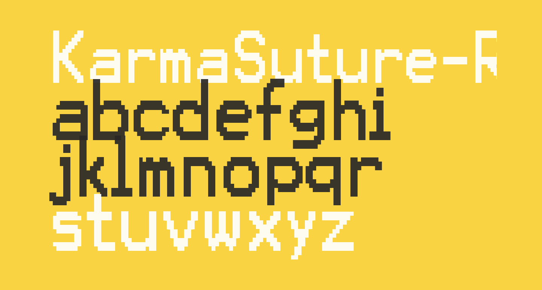 KarmaSuture-Regular