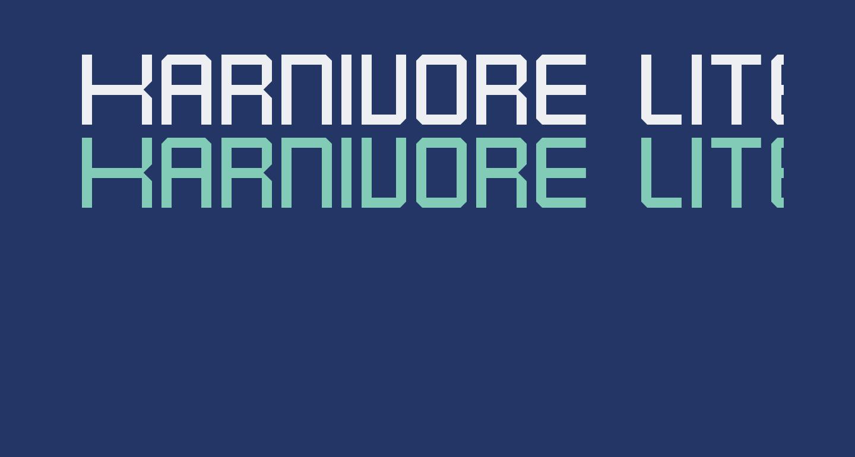 Karnivore Lite