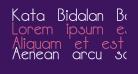 Kata Bidalan Bold