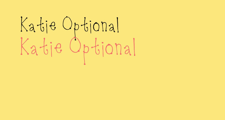 Katie Optional