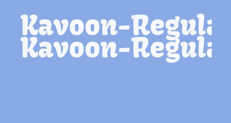 Kavoon-Regular
