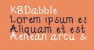KBDabble