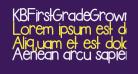 KBFirstGradeGrown