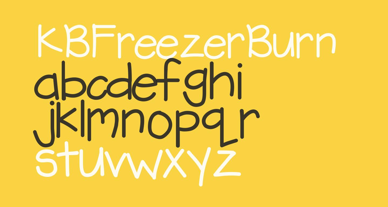 KBFreezerBurn