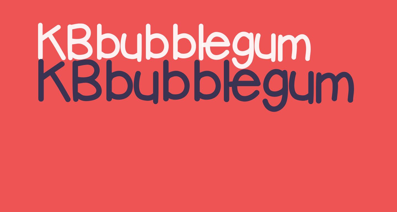 KBbubblegum