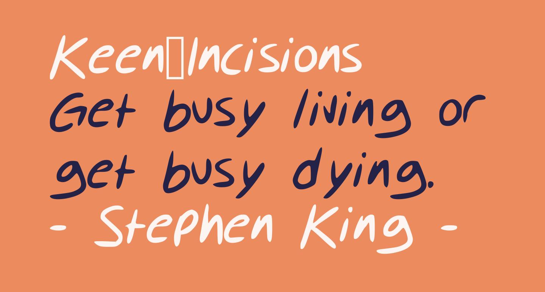 Keen_Incisions