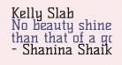 Kelly Slab