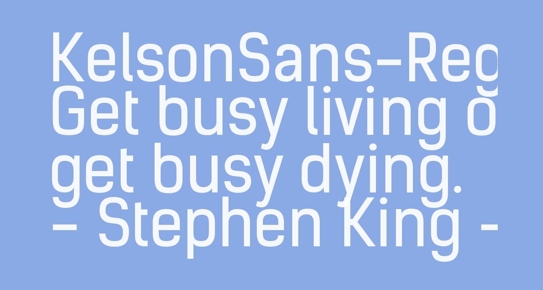 KelsonSans-Regular