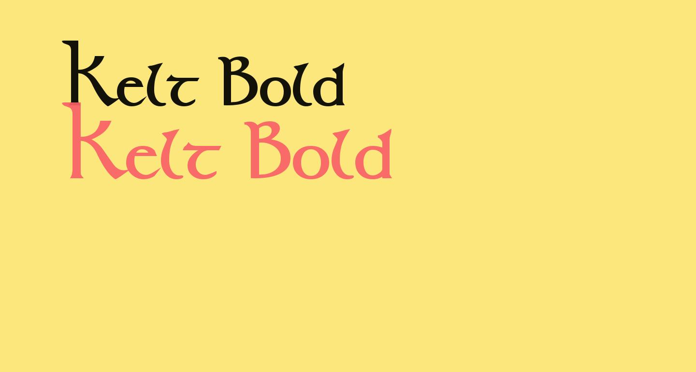 Kelt Bold