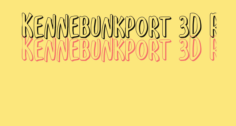 Kennebunkport 3D Regular