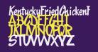 KentuckyFriedChickenFont