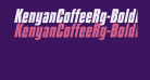 KenyanCoffeeRg-BoldItalic