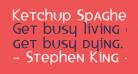 Ketchup Spaghetti