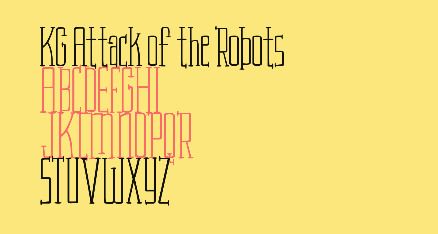 KG Attack of the Robots