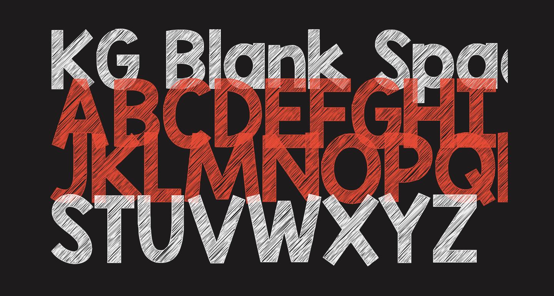 KG Blank Space Sketch