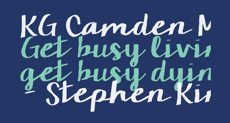 KG Camden Market Script
