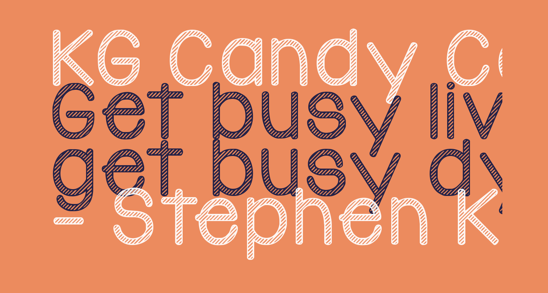 KG Candy Cane Stripe