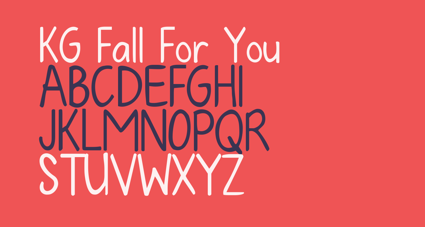 KG Fall For You