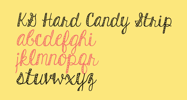KG Hard Candy Striped
