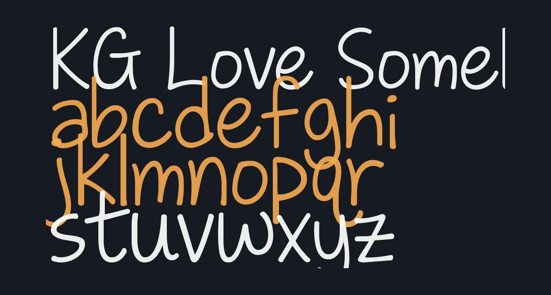 KG Love Somebody