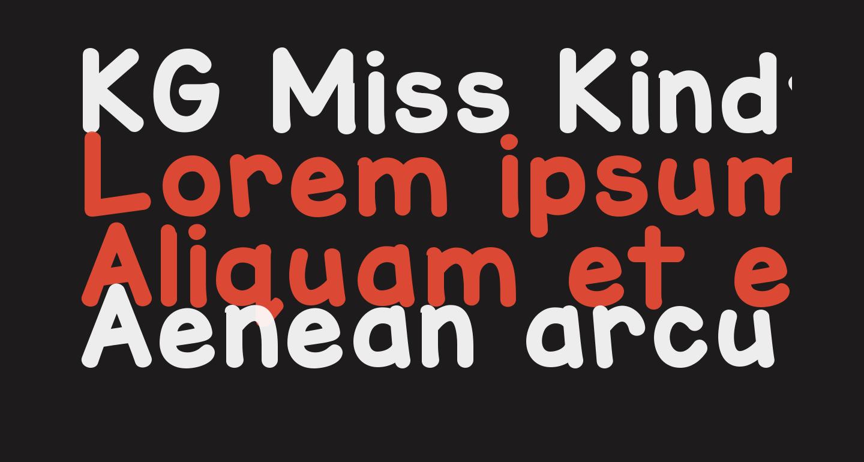 KG Miss Kindy Marker