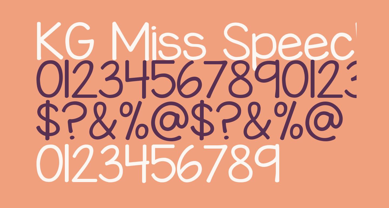 KG Miss Speechy IPA