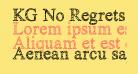 KG No Regrets Sketch