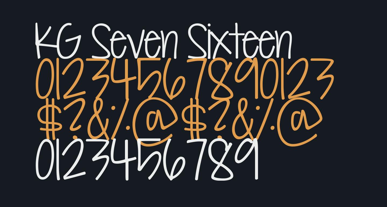 KG Seven Sixteen