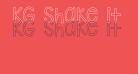 KG Shake it Off Outline
