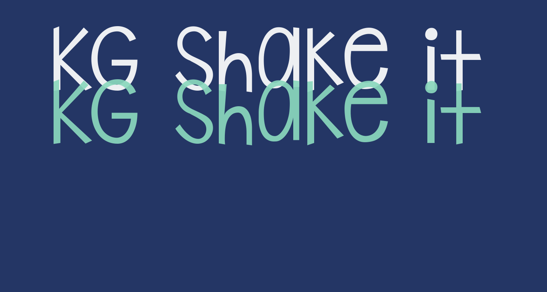 KG Shake it Off