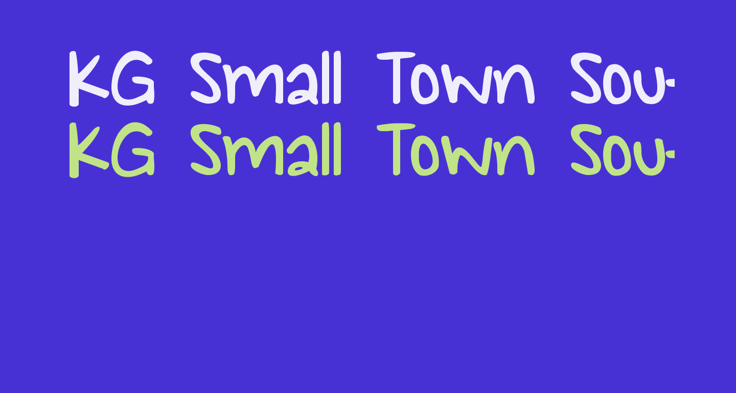 KG Small Town Southern Girl