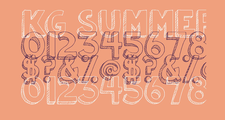 KG Summer Sunshine