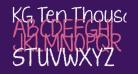 KG Ten Thousand Reasons