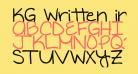 KG Written in the Stars