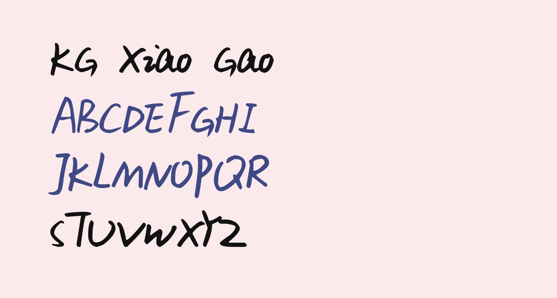 KG Xiao Gao