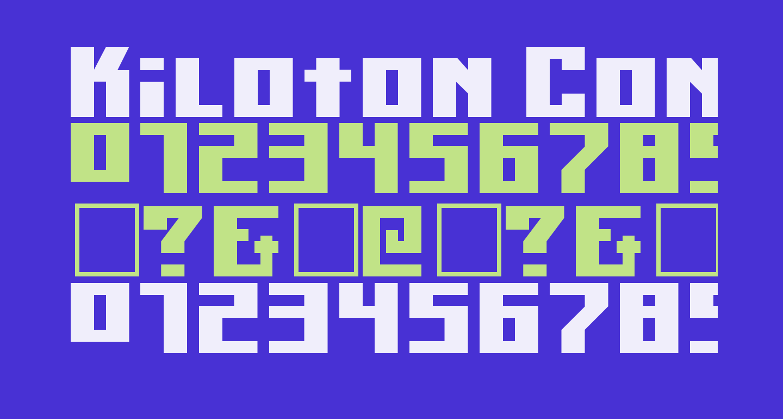 Kiloton Condensed