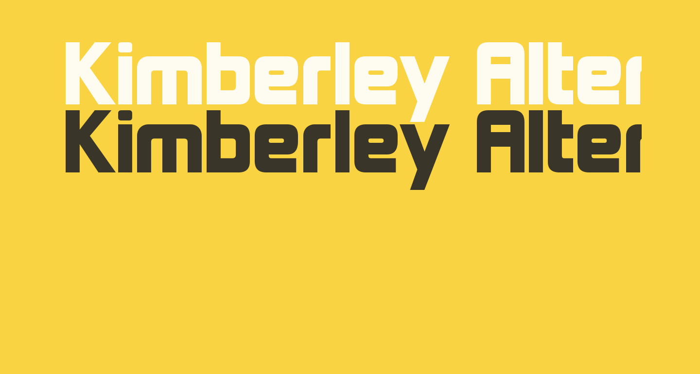 Kimberley Alternate