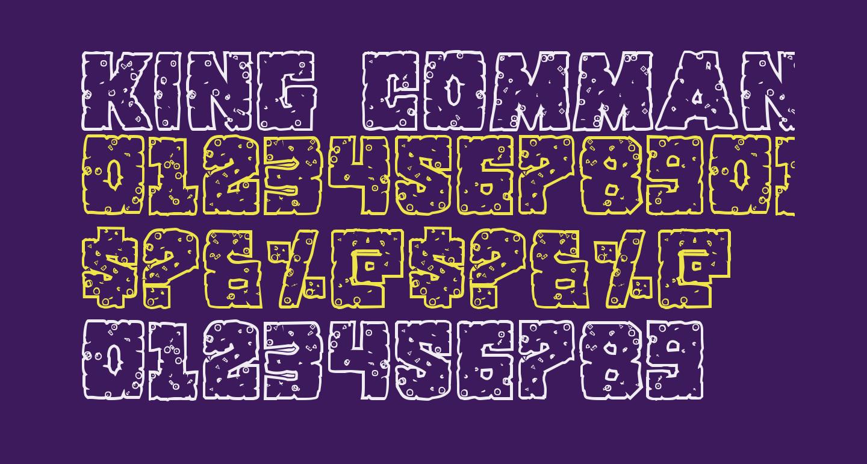 King Commando Riddled III Regular