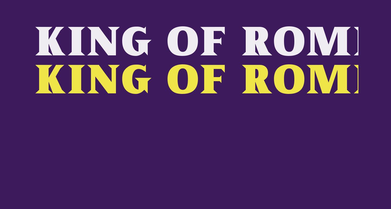King of Rome Regular