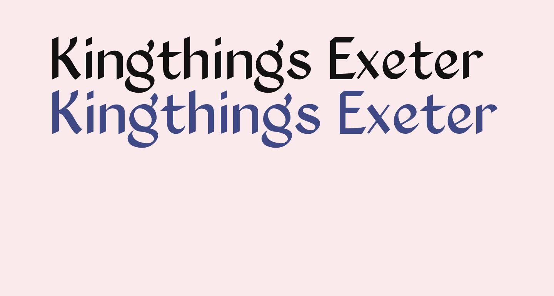 Kingthings Exeter