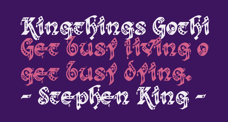 Kingthings Gothique