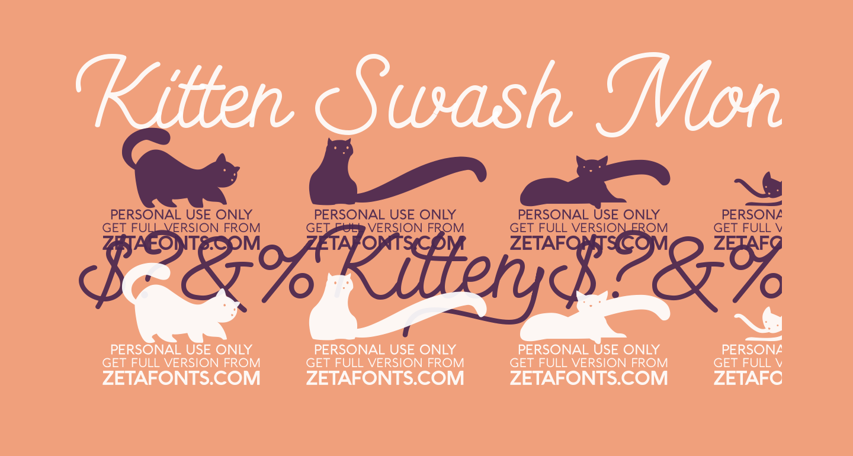 Kitten Swash Monoline