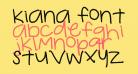 kiana font
