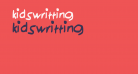kidswritting