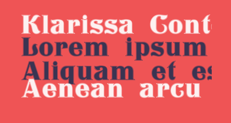 Klarissa Contour