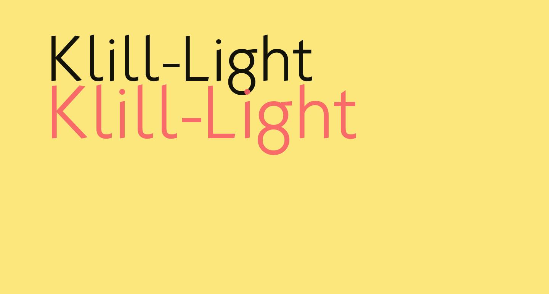 Klill-Light