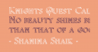 Knights Quest Callig